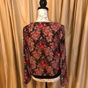 Xhilaration Tops - ‼️BOGO‼️ Semi sheer blouse